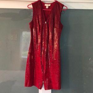 Cache Snake-print dress